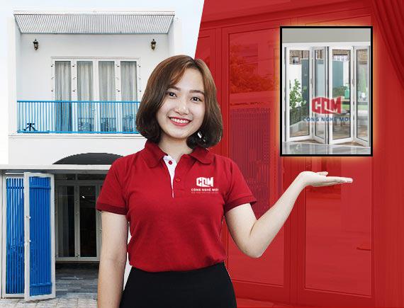 banner chan - Nên chọn cửa kính cho cửa hàng loại nào chất lượng, giá tốt