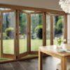 Ngồi nhà của bạn trông sáng sủa hơn khi lắp đặt cửa đi xếp trượt