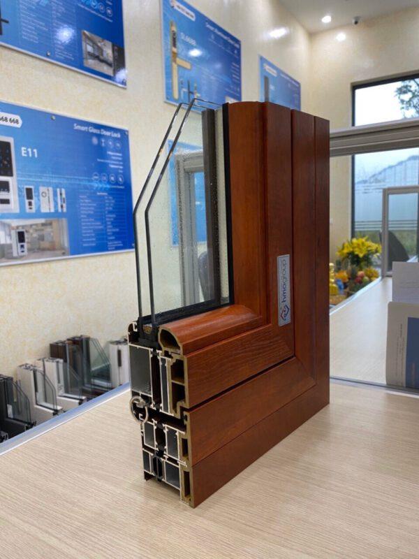 Cửa nhôm cầu cách nhiệt được ứng dụng rộng rãi