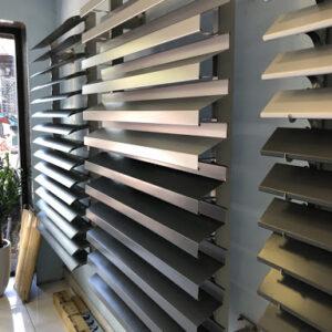 Kết cấu lam chắn nắng của cửa chớp nhôm Xingfa