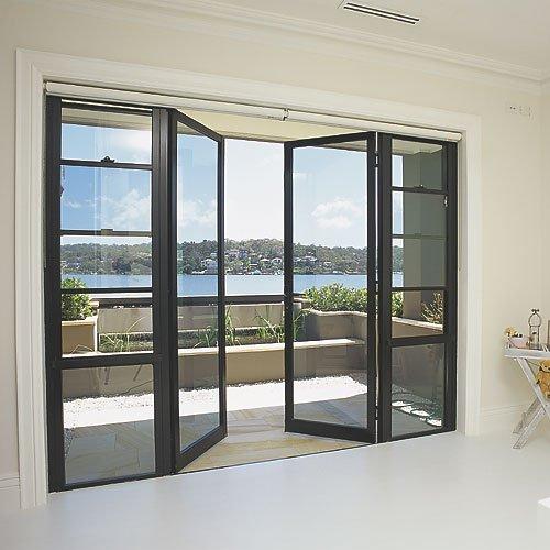 shopfront doors windows - Nên chọn cửa nhôm kính cường lực hay cửa nhôm cho nhà biệt thự