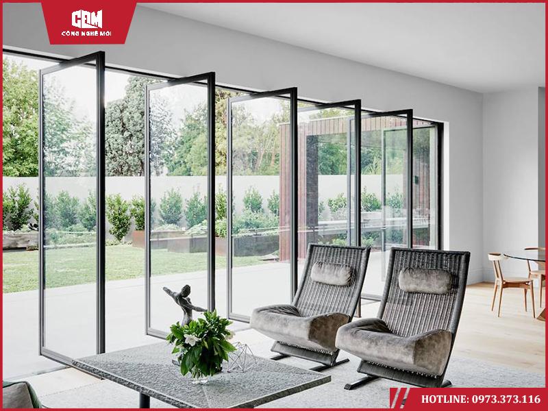 mau cua nhom pma 7 - Cách chọn mẫu cửa nhôm PMA theo phong cách thiết kế  công trình