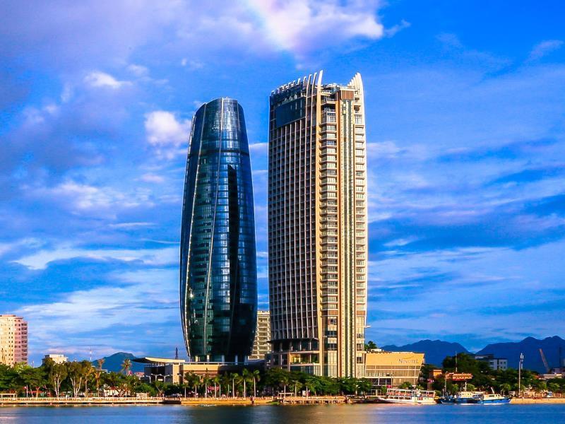 trung tam hanh chinh thanh pho da nang - Tác động vách kính cường lực mặt dựng đến tòa nhà trong mùa nắng nóng