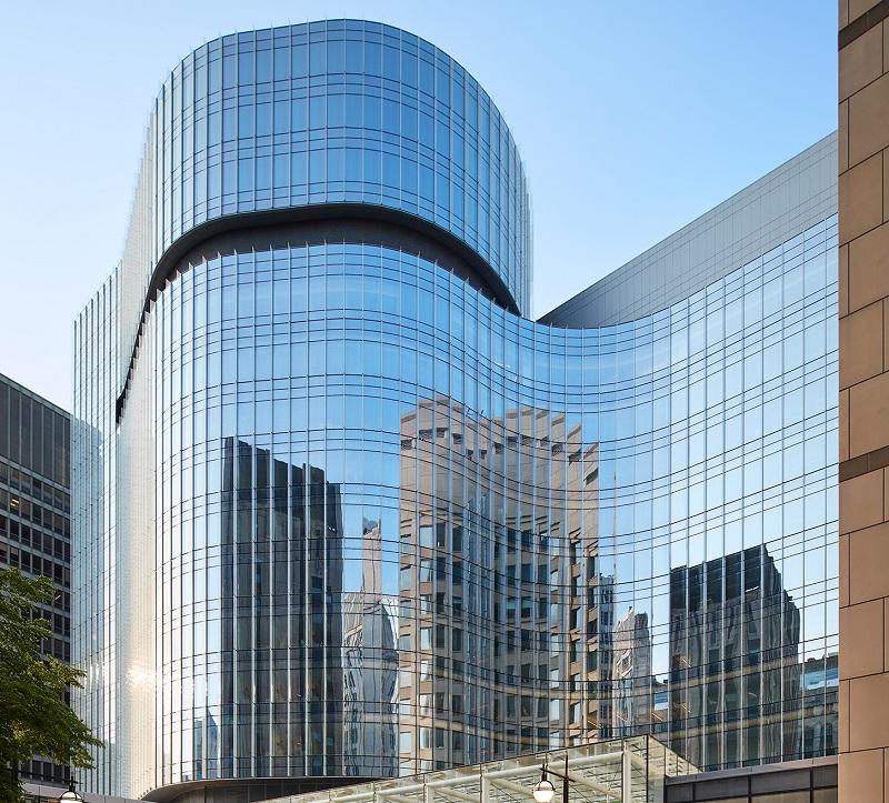 vach kinh cuong luc mat dung 3 - Tác động vách kính cường lực mặt dựng đến tòa nhà trong mùa nắng nóng