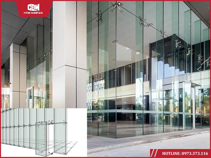 spider curtain wall - Công nghệ đã thay đổi hình thái vách kính nhà cao tầng ra sao?