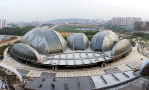 National Grand Theatre 300x182 - Những công trình lắp đặt vách kính mặt dựng khung nhôm trên thế giới