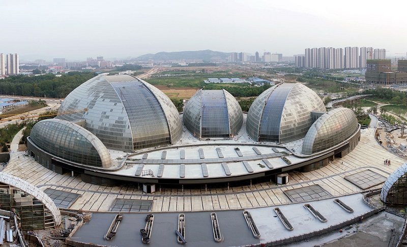 National Grand Theatre - Những công trình lắp đặt vách kính mặt dựng khung nhôm trên thế giới