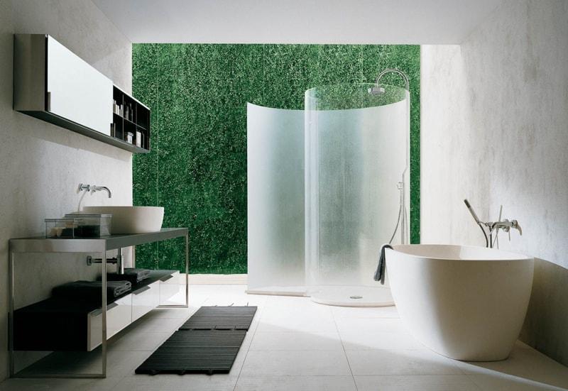 vach kinh phong tam 5 - Vách kính cường lực phòng tắm: thiết kế cách tân liệu có phù hợp văn hóa Á Đông?
